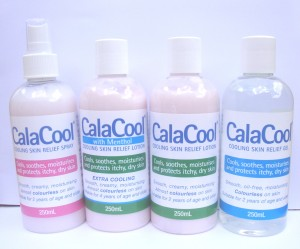 image of the CalaCool range of products